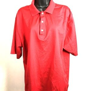 Greg Norman Men's Polo Shirt Size L/G Red